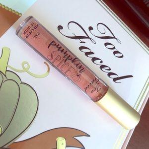 🆕 Too Faced Pumpkin Spice Ultra Plush Lip Gloss